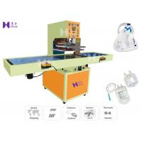 China AC380V Medical Pouch Making Machine 5 Pcs / Min For Urine Drainage Bag on sale