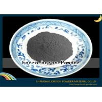 Buy cheap 180 Micron Black Ferro Boron Powder Metallurgy Materials For Electrode product