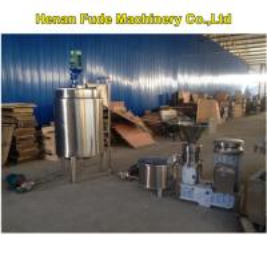 Quality almond milk making machine with storage tank for sale