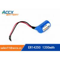Quality ER14250H with Axis 3.6V 1.2Ah memory back up battery for sale
