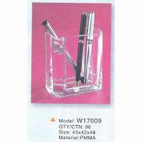Quality Acrylic Pen Holder, Pencil Bags, Pencil Case, Office Stationery (W17009) for sale