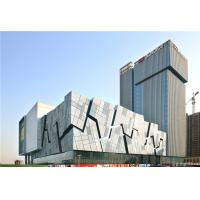 Quality Class A Fireproof Fibre Cement External Wall Cladding 4.5-18mm Thickness for sale