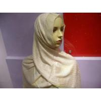 Quality Embroidered Hijab Silk Scarf (HP-C2635) for sale