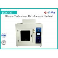 China High Efficiency Flame Test Equipment / Glow Wire Test Apparatus Equipment on sale