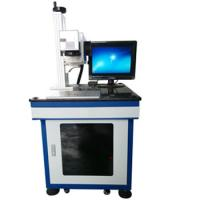 Buy cheap CO2 Wood Products Laser Marking Machine 10W / 30W Industrial Marking Equipment product