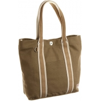 Brown Cotton 35*37*11CM 5oz Foldable Canvas Tote Bag