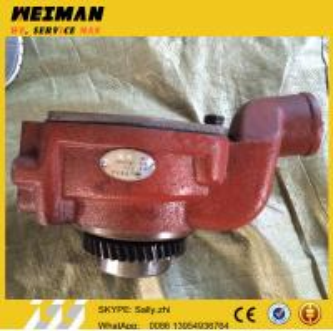Quality SDLG orginal water pump, 2W8002+D, SDLG wheel loader  spare parts  for wheel loader LG956L/LG936/LG953/LG968 for sale