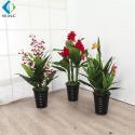 Strelitzia Reginae Artificial Bonsai Plants For Interior Ornament R020059 for sale