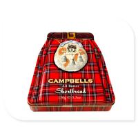 Buy cheap Campbells Metal Tin Container 150g Box With Embossed Lid OEM Accepted product