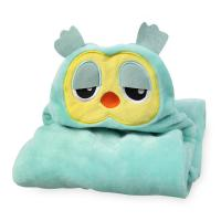 Bamboo Cotton Baby Hooded Towel,  Baby Hooded Beach Towel Various Colors Animal
