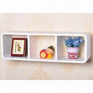 Quality MDF wall shelf/wall shelving for sale