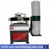 China cnc router for wood/metal with dust collector ZK-6060(600*600*120mm) on sale