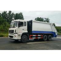 Quality Large Volume Waste Compactor Truck , Waste Management Garbage Truck With Auto Discharging for sale