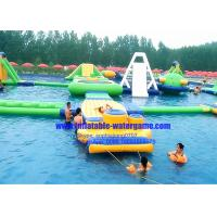 Buy cheap Heavy Duty Rent Inflatable Water Parks Environment Friendly CYWP-1626 product