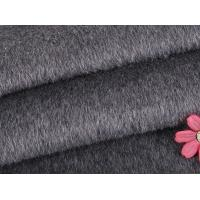 Quality Polyester Twill Fabric Organic Wool Fabric Long / Short Hair Customized Winter Coat for sale