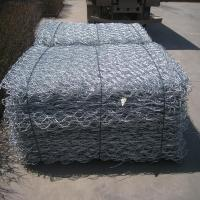 China Hot Dipped Galvanized Gabion Wire Mesh Rock Retaining Wall Environmental Friendly on sale