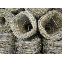 Quality 12G Stainless steel/PVC/ Galfan/ Galvanised Single/ Double strand 4 Points Barbed Wires, Bobbed wire for sale