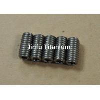China Industrial Ti Micro Set Screws  For Motorcycle Good Thermal Properties on sale