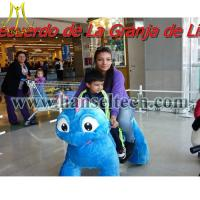 Buy Hansel animales montables riding dinosaur toys dinosaur animal rides for shopping mall at wholesale prices