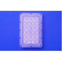 Buy cheap 24 Points 145x75 Degree Asymmetric Led Street Light Optical Lens With 3535 PCB Module from wholesalers