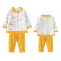 China 0 to 3 years baby girls homewear Girls are made of pure cotton pajamas on sale