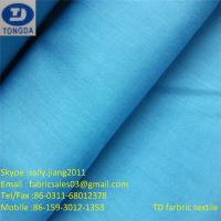 Quality T/C65/35 45X45 110X76 White/Dyed colors fabric for sale