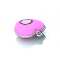 Quality Heart Shape Self defense mini key personal security alarm with 130DB siren for the lady/student etc for sale