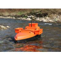 Orange deliverance bait boat , remote control fishing bait boat DEVC-202