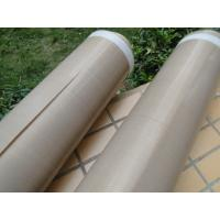 Quality Heat Insulation PTFE Coated Fiberglass Fabric Anti - Corrosion 0.13mm Thickness for sale