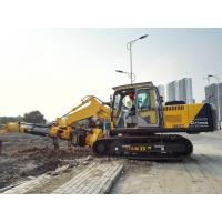 Quality Pile Foundation Equipment , Hydraulic Rotary Piling Rig Construction Pile Driver for sale