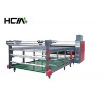 Quality 80cm drum 1.9 m width Roller heat press machine Sublimation Heat Transfer for sale