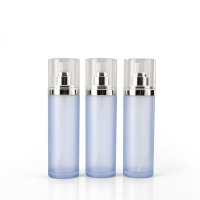 Quality 50ml Empty Packaging Frosted Plastic Lotion Bottles for sale