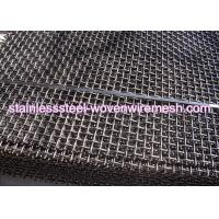 Quality Carbon Steel High Tensile Crimped Wire Mesh With Square Aperture And Round Wire In Sheet for sale