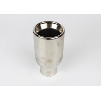 Quality Stainless Steel 203mm SS304 2.5 Inlet 4 Outlet Exhaust Tip for sale
