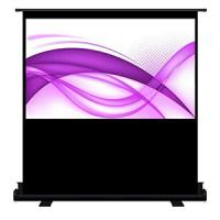 China Cynthia Screen Floor Scissor Stand Pull Up Portable Projector Screens on sale