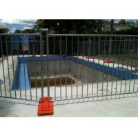 China 42 Microns Detachable Pool Fence / Baby Barrier Pool Fence Portable 300gram on sale