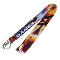China heat transfer lanyard with metal hook on sale