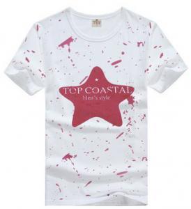 China Children's Polo Shirt summer wear T-shirt round collar short sleeve T-shirt for children on sale