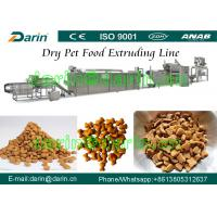Quality Dog / cat / bird / fish / Pet Food Making Machine - China Pet Feed Production Line with WEG Motor Three Year Guarantee for sale