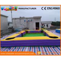 Buy cheap Giant Pool Table Soccer Inflatable Snooker Football Inflatable Snooker Field product
