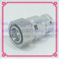 4.3-10 connector Male straight for 1/2 superflex cable solder type Tri-alloy body PIM ≤-160dBC