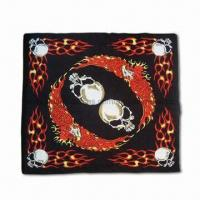 Buy Bandana with Twelve Ways to Wear, Customized Logos and Sizes Welcome, Seamless Tubular Garment at wholesale prices