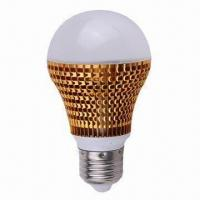 Quality LED Bulbs with E27 Lamp Base, New Heatsink Designed Cooling Fins for sale