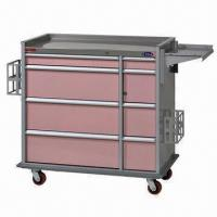 Quality Hospital Trolley, Medicine Cart, Multipurpose Drawers for sale