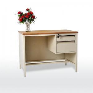 Quality Easy Install 1000mm Length 0.280 CBM Office Table Desk for sale