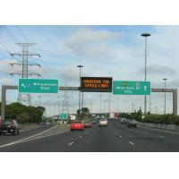 Quality Flexible P16 1R1G1B Full Color LED Scrolling Message Sign For Highway Two Lane for sale