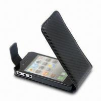 Buy cheap Vertical Slim Case for Apple's iPhone 4G, Various Colors are Available from wholesalers