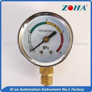 panel mount pressure gauge