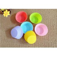 Non-stick Silicone Cupcake Liners with FDA approved
