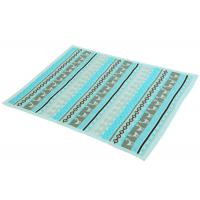 Buy Environmental Knitting Pattern Baby Blanket For Bedding / Car lake blue color at wholesale prices